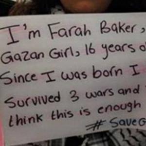 Farah Baker, la joven palestina de 16 años que tuitea la guerra en Gaza
