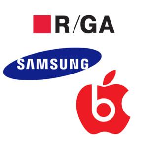 La rivalidad entre Apple y Samsung, también llega a la agencia R/GA
