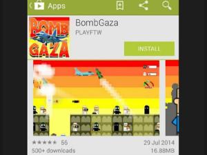 Google y Facebook borran un juego que emulaba el conflicto en la Franja de Gaza