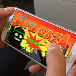 bomb gaza juego