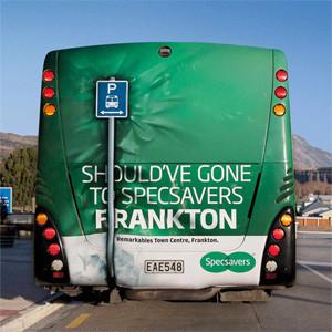 20 campañas publicitarias en autobuses