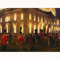 ¡La Casa Blanca está en llamas! La Embajada británica pide disculpas por un tuit falto de tacto