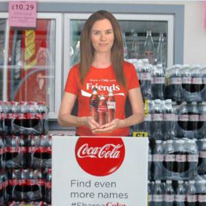 Coca-Cola se saca de la chistera una moderna asistente virtual para ayudar al cliente en el punto de venta
