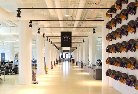 emparedado Coro absorción  31 fabulosas oficinas de grandes marcas y qué las hace diferentes a las  demás | Marketing Directo