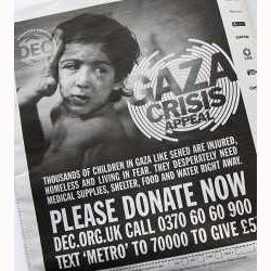 Un periódico judío se disculpa por incluir un anuncio para apoyar a las víctimas de la ofensiva israelí en Gaza