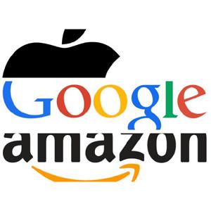 Amazon, Apple y Google se acercan a clientes del mundo empresarial para compensar sus pérdidas