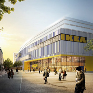 En el único IKEA del mundo en el centro de la ciudad los clientes tienen