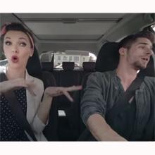 Toyota convierte su Yaris en un karaoke con ruedas para una divertida campaña