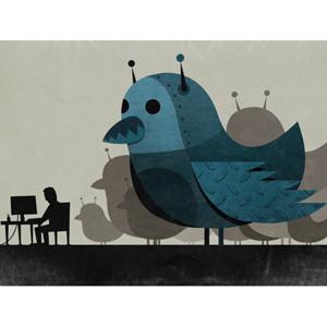 Twitter admite que unos 23 millones de sus usuarios activos son robots