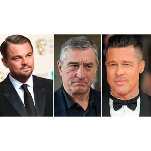 Brad Pitt, DiCaprio y De Niro juntos para un spot de TV dirigido por Scorsese