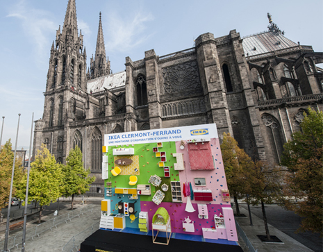 Clermont-Ferrand-ikea-mur-escalade