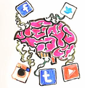 cerebro y redes sociales