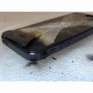 iphone 6 quemado