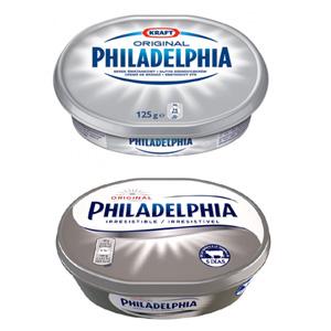 """La marca de queso Philadelphia """"unta"""" su famoso logo con un nuevo """"look"""""""