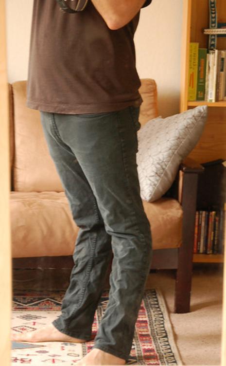 piernas atrás