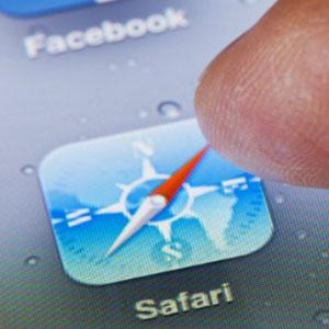 Apple se proclama rey del tráfico web móvil