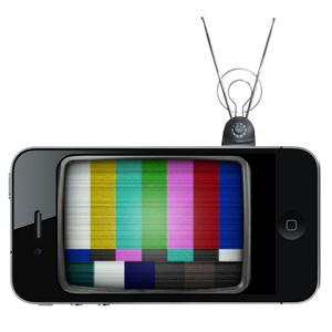 televisión y smartphones