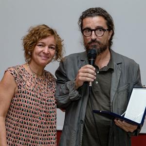 Marta Rico y Miguel García Vizcaíno