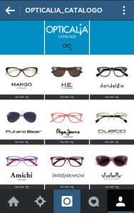 Opticalia lanza su nuevo catálogo interactivo en Instagram