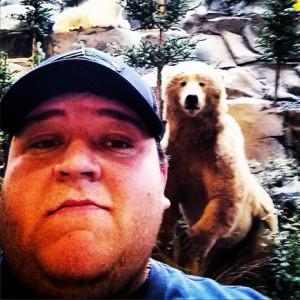 Selfie + osos salvajes: una mezcla no muy recomendable