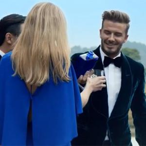 David Beckham se emborracha de estilo y glamour en un anuncio de whisky