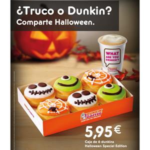 Dunkin' Coffee presenta su colección especial de Halloween