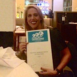 Grupo Consultores, representante del año de Cannes Lions 2014
