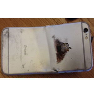 Explota un iPhone 6 en el bolsillo de un norteamericano provocándole quemaduras de segundo grado