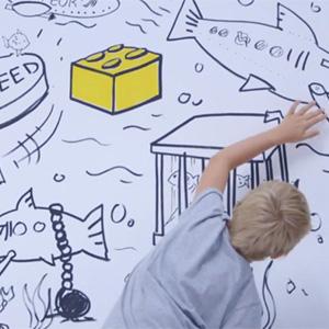 LEGO demuestra en esta campaña la impetuosa creatividad que sus juguetes provocan en los niños