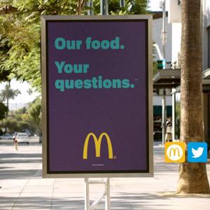 McDonald's responderá a sus clientes sobre sus productos en una campaña para mejorar su imagen