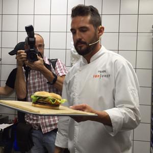 McDonald's presenta su hamburguesa más gourmet de la mano de Top Chef