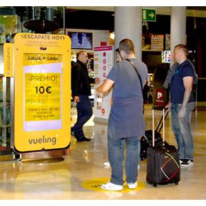 Tecnología puntera en la campaña de Vueling de la mano de Iwall
