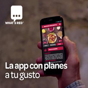 Spots en tiempo real para Whatsred, la nueva app de Coca-Cola