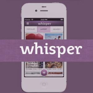 La app Whisper niega el rastreo de los usuarios del que se le había acusado