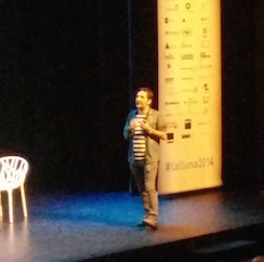"""Enric Nel-lo en #lalluna2014: """"la diferencia entre una marca atrevida y una que se esconde, es poner en práctica las buenas ideas"""""""