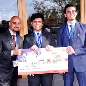 Equipo ganador del 19º Global Marketing Competititon