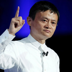 SoftBank CEO Masayoshi Son And Alibaba Chairman Jack Ma Attend SoftBank World 2014