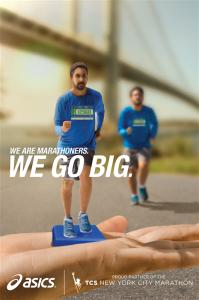 Asics homenajea a los corredores de la 500 Maratón de Nueva York