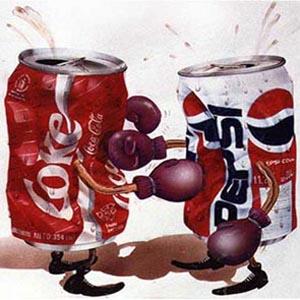 coca cola pepsi lucha coke