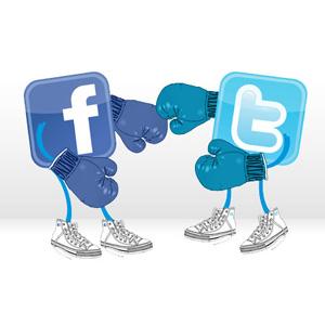 Puestos a elegir entre Facebook y Twitter, los internautas se decantan por la red social de Mark Zuckerberg