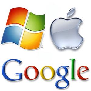 google apple microsoft