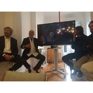 Miguel Conde, Carlos Martínez-Cabrera, Joseba & Galindo y Álvaro Fernández Recio lanzan Kepler22b en Madrid