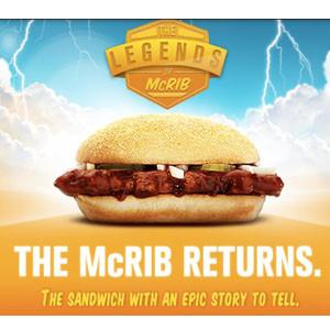 McDonald's revela los secretos de su McRib en una campaña de limpieza de imagen