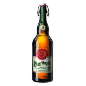 Pilsner Urquell lanza una edición limitada de su botella de 1 litro por su 172 aniversario