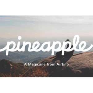 """Airbnb lanza su propia revista, """"Pineapple"""""""