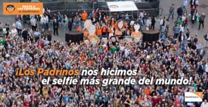 La plaza de Callao se convierte en el escenario del selfie más grande del mundo