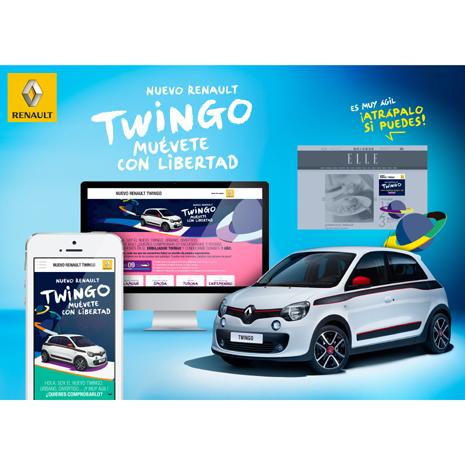 Atrapa el Nuevo Renault Twingo  y muévete con libertad durante todo un año
