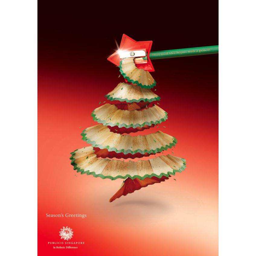 Cuando la publicidad se inspira en los rboles de navidad for Cuando se pone el arbol de navidad