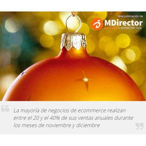 """""""Aumenta tus ventas en Navidad con Email Marketing"""", nueva guía descargable de MDirector"""