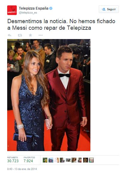Messi Telepizza